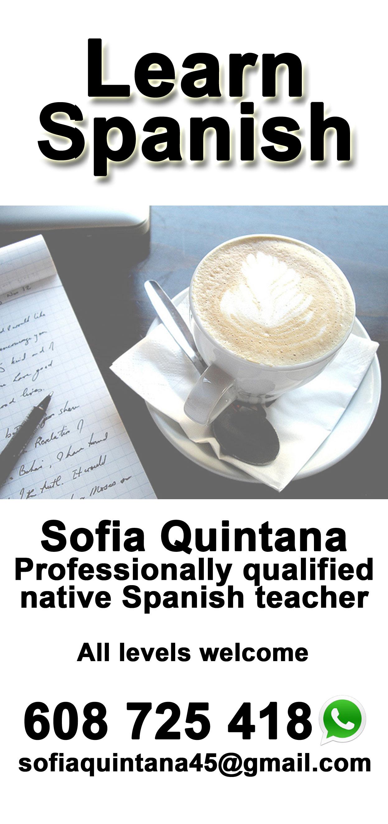 Private Spanish tutor Tarifa